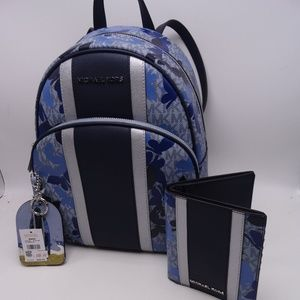MK Abbey Backpack,Luggage Tag,Passport/Wallet New